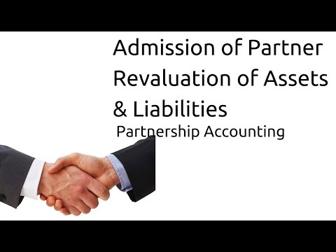 Revaluation of Assets & Liabilities at Admission of Partner | CA CPT | CS & CMA Foundation