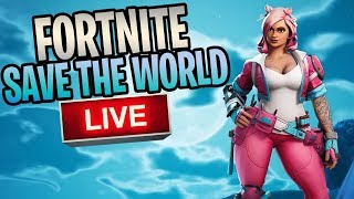 Fortnite - Save The World Livestream (Getting Ready For New Event)
