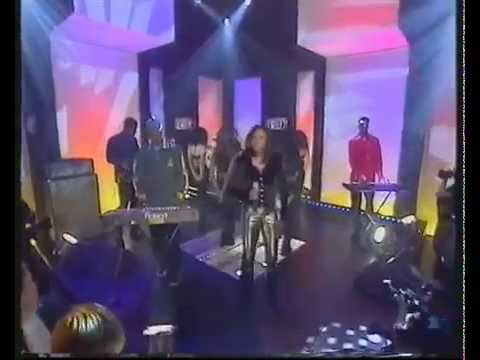Todd Terry presents Shannon - It's Over Love (Live! TOTP 1997)