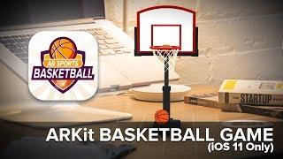 AR Sports Basketball (ARKit Mobile Game) 🏀