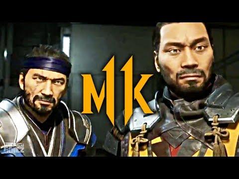 Mortal Kombat 11 - Sub-Zero & Scorpion Fighting The Cyber Lin Kuei!! (Story Mode)