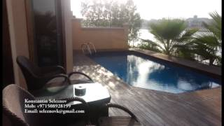 4 bedroom holiday Villa in Palm Jumeirah(UAE, Dubai) for short term rent