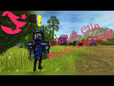 Canter Ella Movie Casting ~  Star Stable Online
