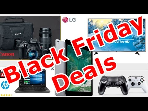 Best Black Friday Deals, Electronics Edition (TVs, Laptops, Tablets And More)