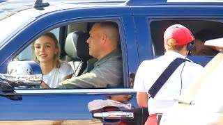 Super Skinny Lily-Rose Depp Gets In-N-Out Burger With Boyfriend Ash Stymest
