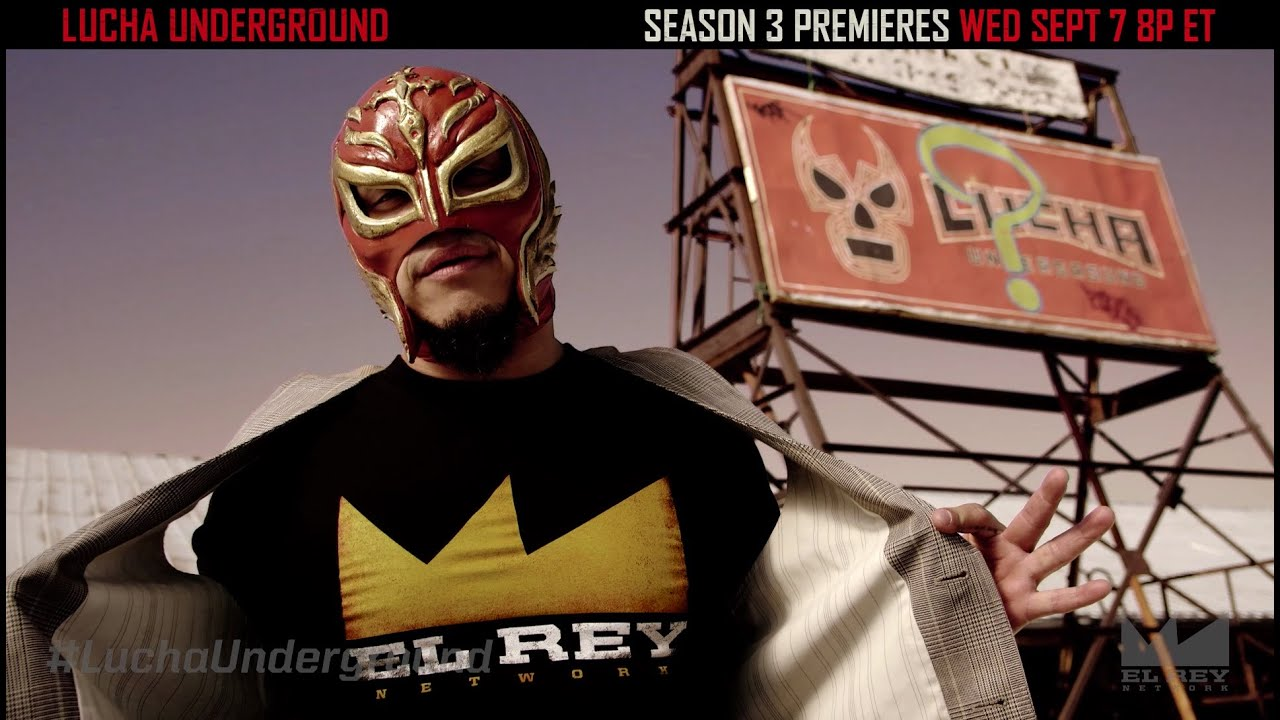Lucha Libre Rey Misterio Rey Mysterio Reflects On Lucha Underground Youtube