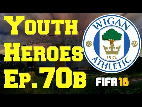 FIFA 16- Youth Heroes: Wigan Athletic- 70 Live Stream Part 2