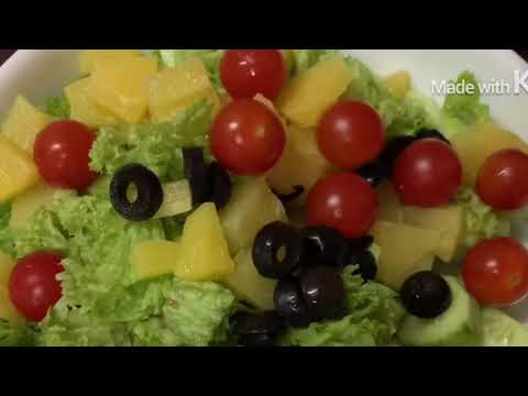 🟡Vegetable Salad / Easy Salad Recipe / Healthy Salad