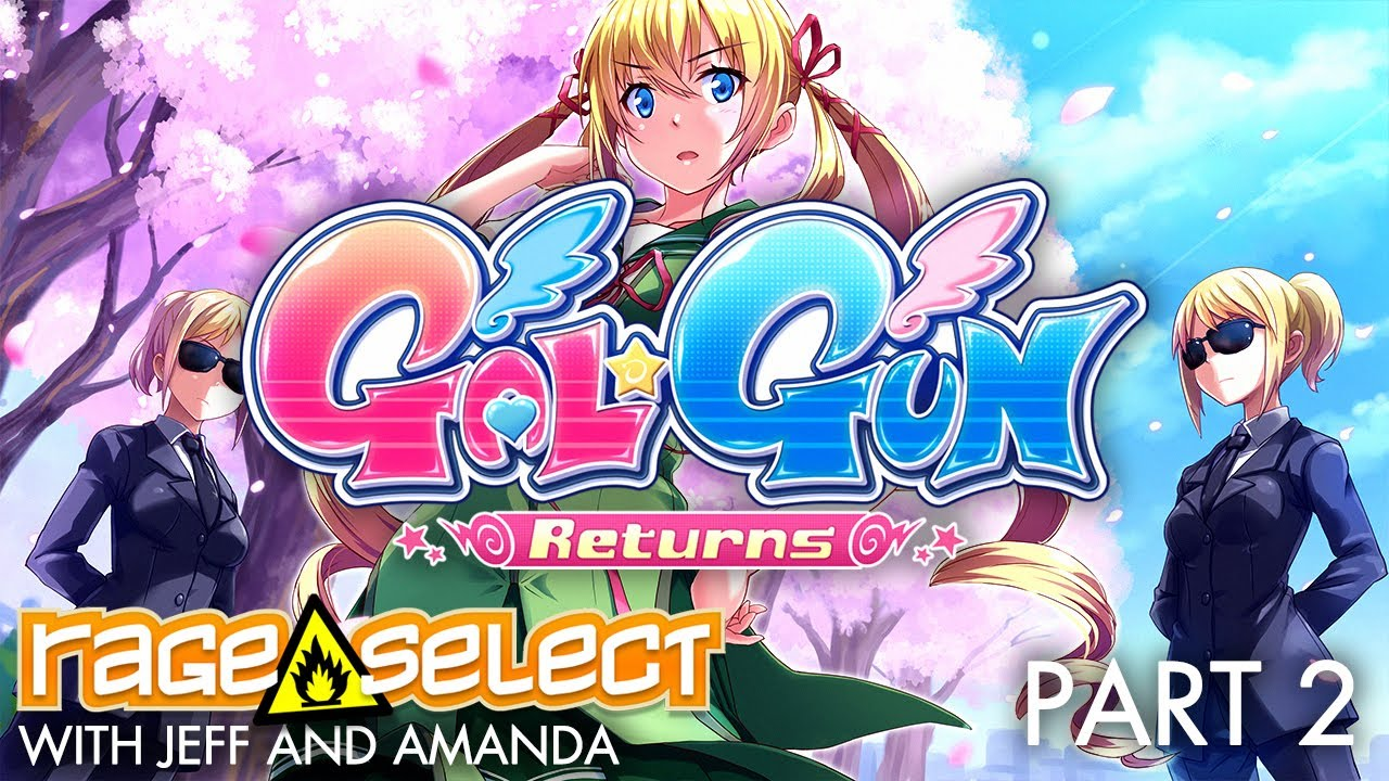 Gal*Gun Returns (The Dojo) Let's Play - Part 2