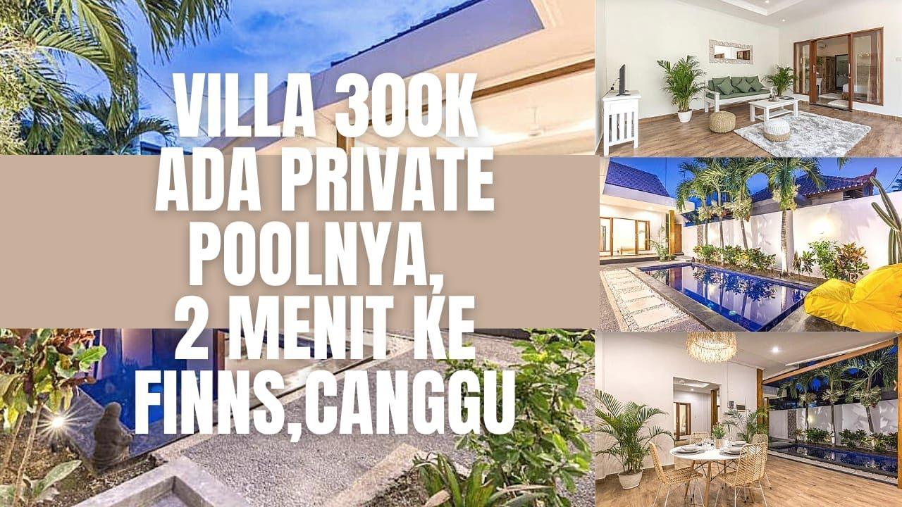 Villa Di Bali Instagramable Murah Hanya 300rb Untuk Rame Rame Private Pool Youtube