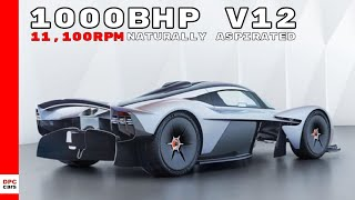 1000bhp Aston Martin Valkyrie Engine Specs