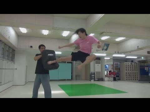 High Kick Angels Fight Chroreography