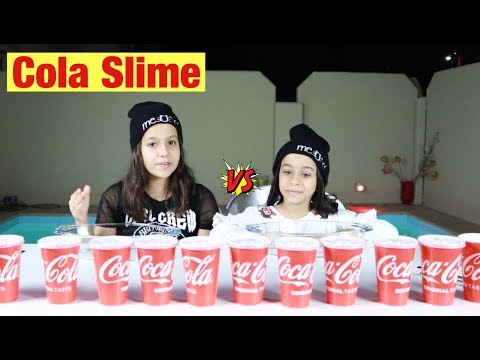 تحدي لا تختار كولا  السلايم الخاطئ !!! Don't Choose The Wrong Cola SLIME Challenge