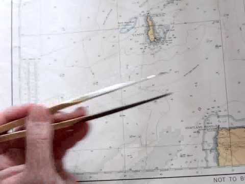 Mercator Chart - Chartwork and Tides