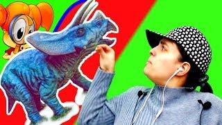 БолтушкА ВеселушкА ОЧЕНЬ Смелая в МИРЕ Динозавров! #89 ИГРЫ и Прохождения для ДЕТЕЙ