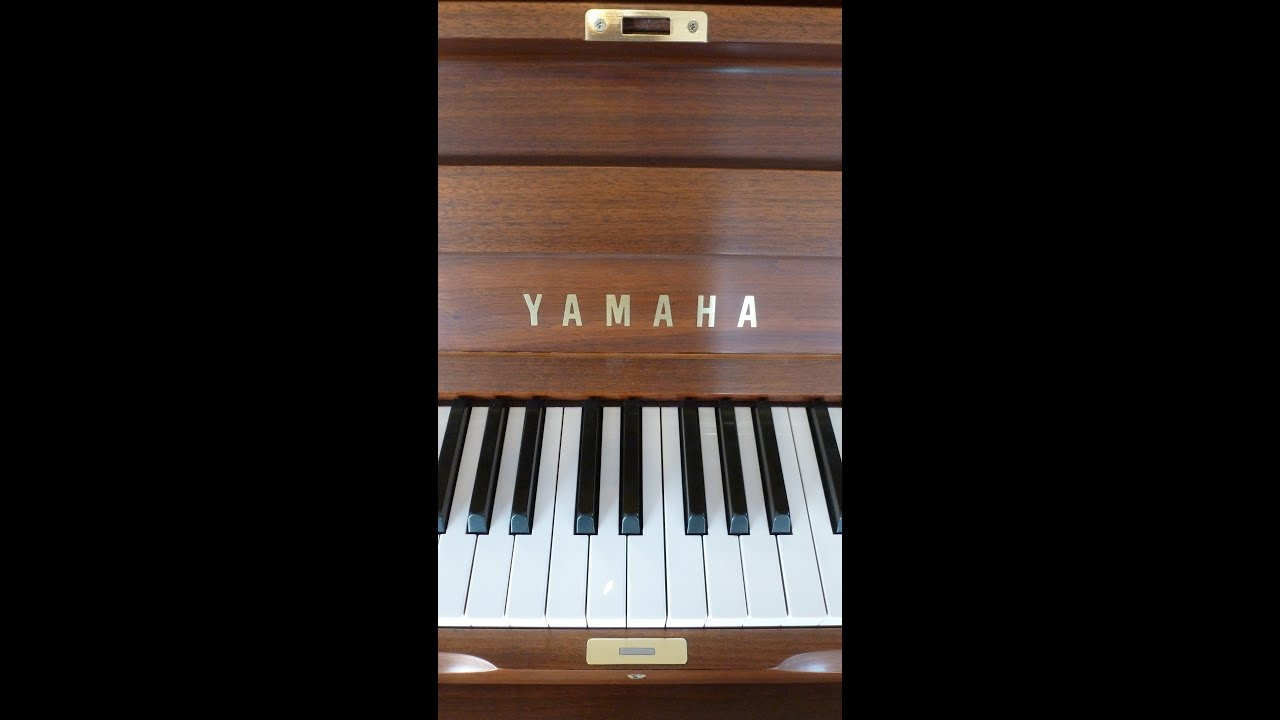 Used yamaha piano u1 professional upright youtube for Yamaha u1 professional upright piano