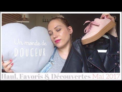 Haul, Découvertes & Favoris de Mai 2017 - Zara, Djulicious, L'Oréal, Maison du Monde...