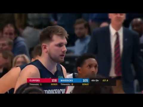 Los Angeles Clippers Vs Dallas Mavericks Full Game Highlights January 21 2020