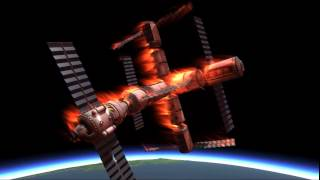 De orbiting a space station GRAVITY style