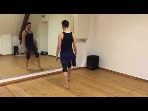 Egyptian Turn - Spiral turn/spin Belly Dance lesson with Zadiel | Bauchtanz Unterricht online lernen