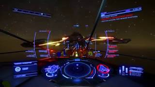 Striking Thargoid Supply Chain (Planet Side Thargoid Combat [some stutters])