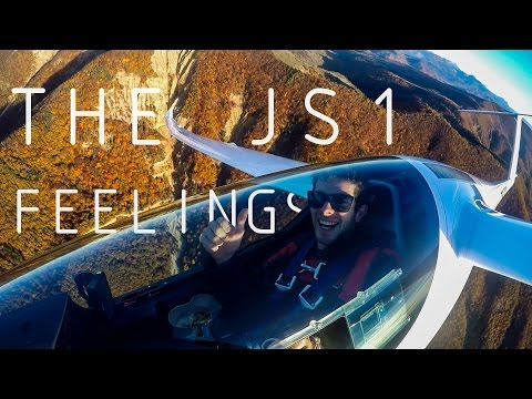 The JS1 Feelings - Gliding Alps 2016 | Drone Phantom 2