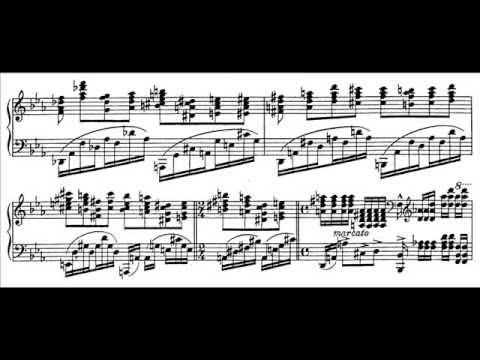 """Sergei Bortkiewicz - Etude Op. 29 No. 6 """"Le heros"""" (audio + sheet music)"""
