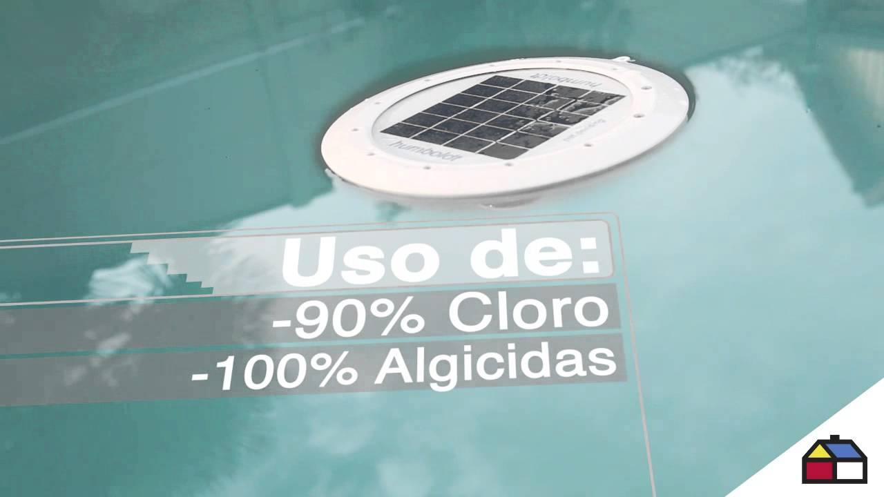 Circuito Ionizador De Agua : Ionizador solar para piscina humboldt youtube