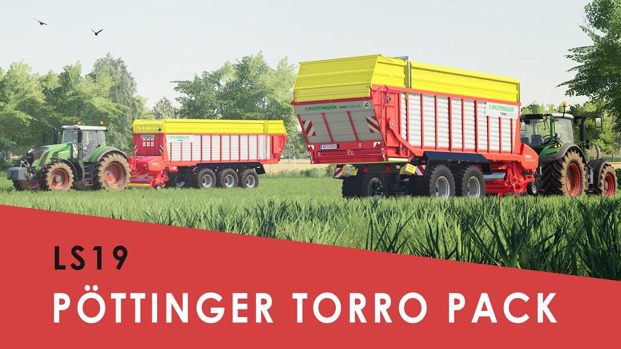 LS19 I Neue Pöttinger Ladewagen I Torro Combiline