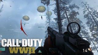 Nadeshot - COD:WW2 Multiplayer Infantry Gameplay (Paratrooper Scorestreak)