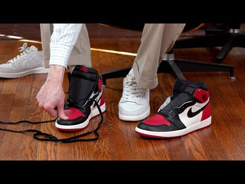 Air Jordan 1 Sizing Advice - YouTube