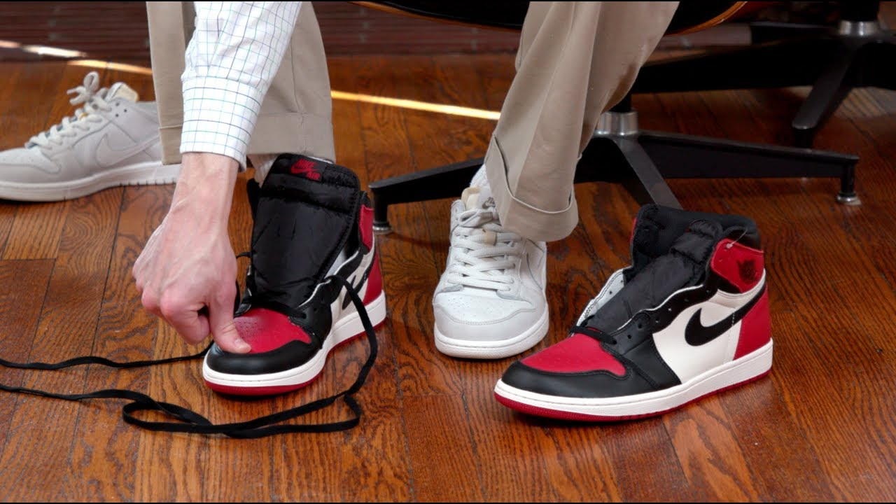 Air Jordan 1 Sizing Advice - YouTube 9bfbdae64