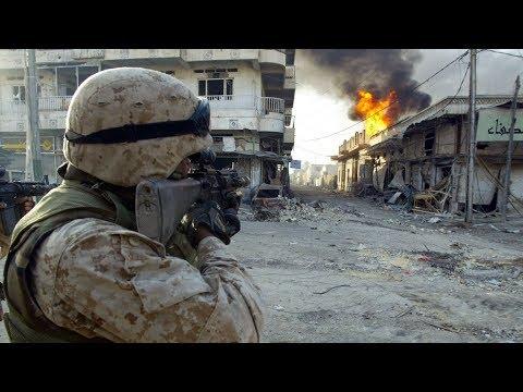 Морская пехота США битва за Фаллуджу реальные кадры войны в Ираке