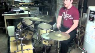 MARC - rancid - time bomb drum cover