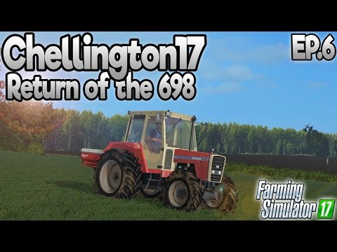 Chellington 17 - Farming Simulator 17 -  Ep.6 (with Wheel Cam)