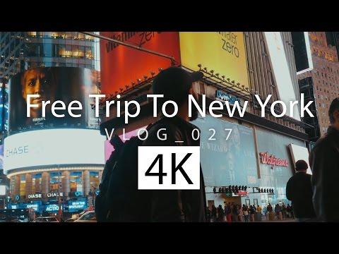 FREE TRIP TO NEW YORK | VLOG 027