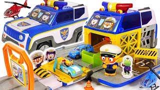 Pororo Police Car Transform! transforming Police car play! Protect Pororo Village! #PinkyPopTOY