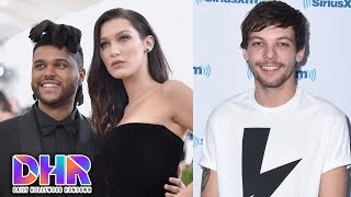 bella hadid warned the weeknd about selena louis tomlinson almost quit music dhr