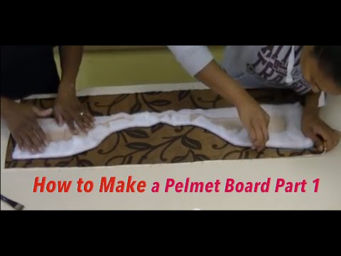 How To Make A Pelmet Board Part 1 Youtube