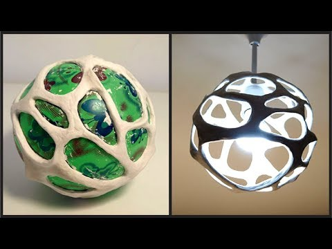 ❣DIY Lampshade Using a Ball❣