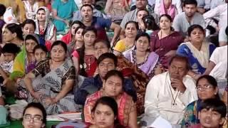 param pujye brahmrishi shree kumar swamiji s hyderabad samagam on 19 20 march 2016 2nd day