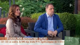 Világbajnok aerobikosok sikerei - tv2.hu/mokka