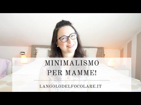 Minimalismo per mamme   L'ANGOLO DEL FOCOLARE