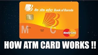 How ATM Card Works To Withdraw Money From ATM ?