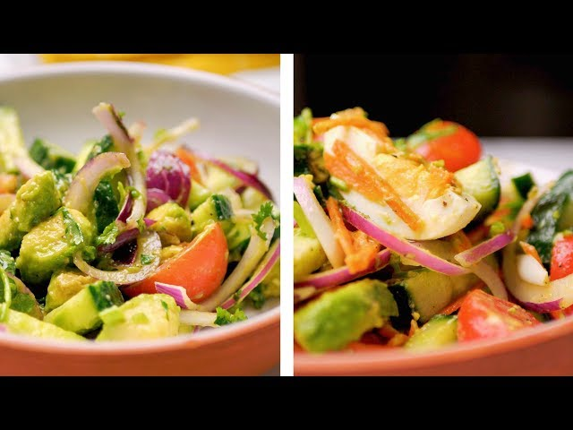 2 Simple And Healthy Summer Salad