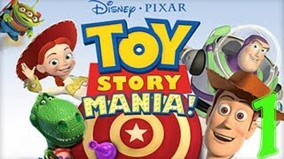 Toy Story Mania Xbox 360 Gameplay [HD] Part 1
