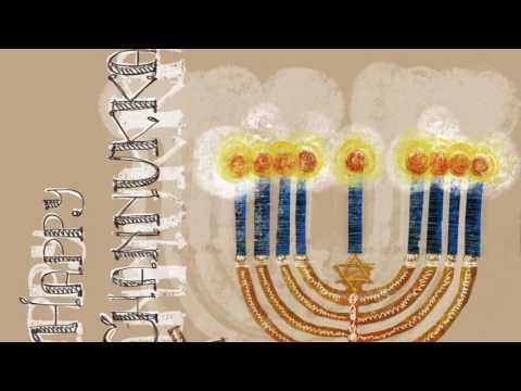 Happy Hanukkah! - an Illustrated Holiday Song
