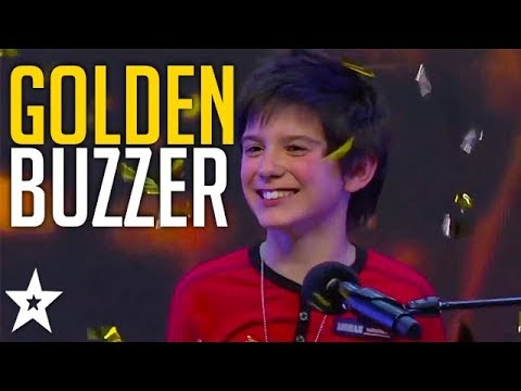 Kid Musician Gets GOLDEN BUZZER on SA's Got Talent | Got Talent Global