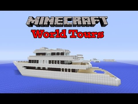 Minecraft Xbox - My Amazing Yacht World! - World Tours Ep.4