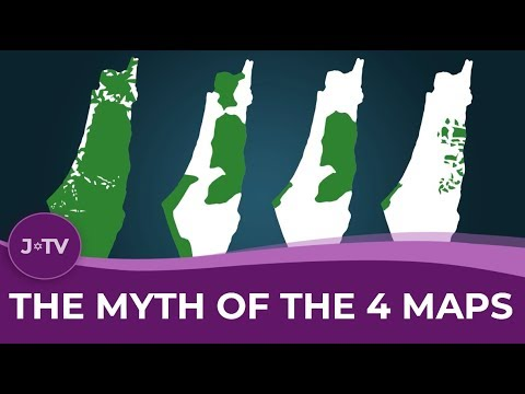 Palestinian Loss of Land: The Myth of the 4 Maps